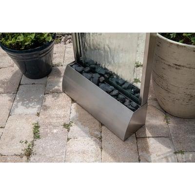 Breckenridge Stainless Steel Floor/Wall Fountain