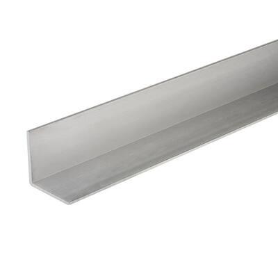 48 in. x 1 in. x 1/8 in. Aluminum Angle Bar