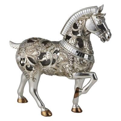Langi Horse Polyresin Decorative Piece