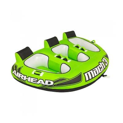 Inflatable Triple Rider Towable Water Lake Ocean River Tube