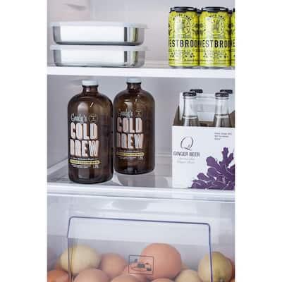 12.9 cu. ft. Top Freezer Refrigerator in Stainless Steel
