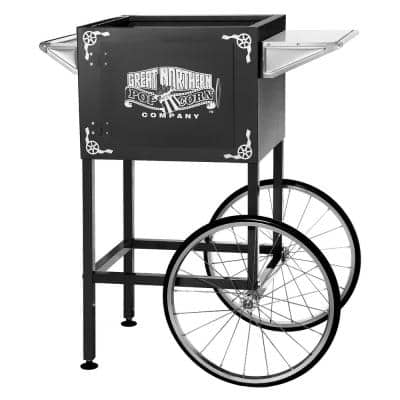 8 oz. Black Replacement Cart / Stand for Lincoln Style Popcorn Machine
