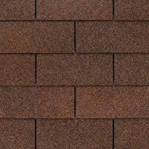 Royal Sovereign Autumn Brown Algae Resistant 3-Tab Roofing Shingles (33.33 sq. ft. per. Bundle) (26-pieces)