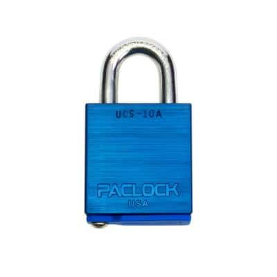 High Security Job-Box/Job-Site Padlock, Keyed Different, UCS Every-Lock-One-Key, Buy American Act Compliant