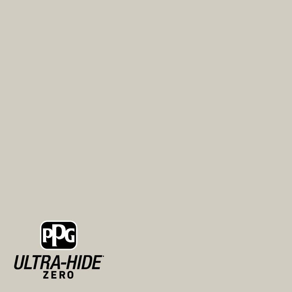 Ppg Ultra Hide Zero 5 Gal Ppg1025 3 Whiskers Satin Interior Paint Ppg1025 3z 05sa The Home Depot