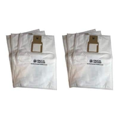 Cloth Bag Replacement for Kenmore 50688 and 50690, Compatible with Part 20-5068 and 20-50681 (6-Pack)