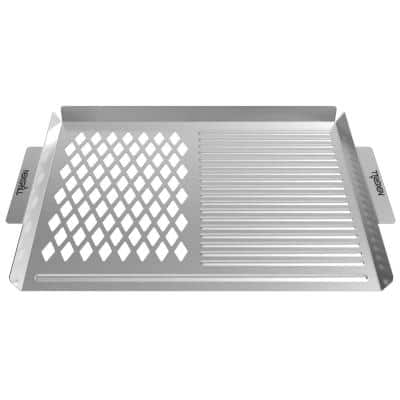 Revelry Stainless Steel Topper
