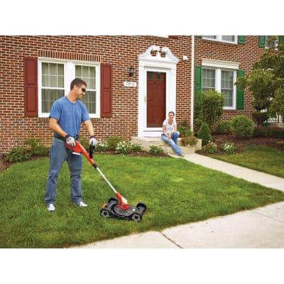 12 in. 20V MAX Lithium-Ion Cordless 3-in-1 String Trimmer/Edger/Mower with (2) 2.0Ah Batteries and Charger Included
