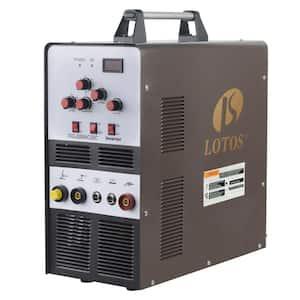 200 Amp TIG/Stick Square Wave Inverter Welder with Foot Pedal for Aluminum, Dual Voltage 110/220V