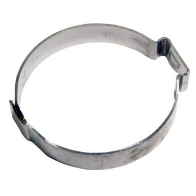 1 in. Stainless-Steel Poly Pipe Pinch Clamp Jar (100-Pack)