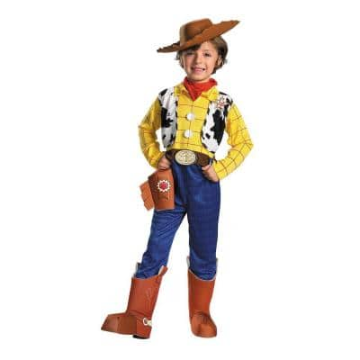 4T Boys Deluxe Toy Story 3 Woody Costume