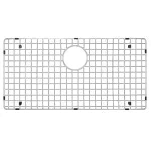26-3/4 in. x 14-3/4 in. Stainless Steel Bottom Grid Fits EL-75