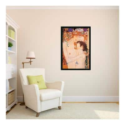 26 in. H x 38 in. W Three Ages of Woman - Mother and Child, 1905 by Gustav Klimt Framed Art Print