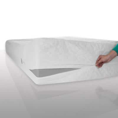 Cotton Dust, Mite and Bed Bug Full Mattress Protector