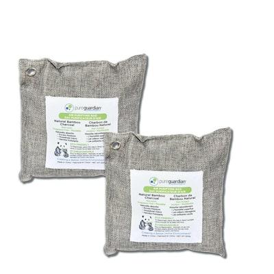 Air Purifying Bamboo Charcoal Bag, 17.6 oz (2-Pack)