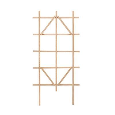 48 in. Cedar Ladder Trellis