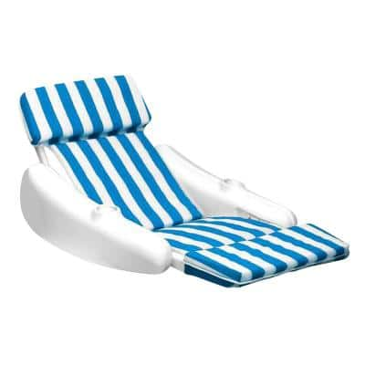 SunChaser Padded Swimming Pool Floating Lounge Chair