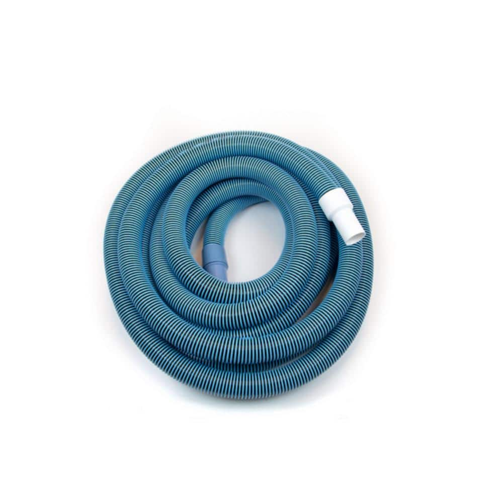 Poolstyle Supreme Series 1 5 In X 50 Ft Vacuum Hose With Swivel Cuff Ps795 The Home Depot