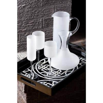 White Night Frosted Martini Pitcher