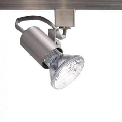TK-178 Brushed Nickel Line Voltage Track Head for H Track