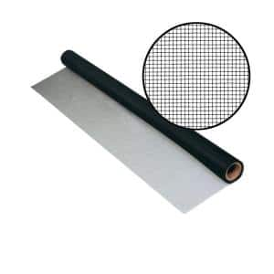 48 in. x 50 ft. UltraVue Black Insect Screen