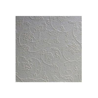 Heaton Paintable Textured Vinyl White & Off-White Wallpaper Sample