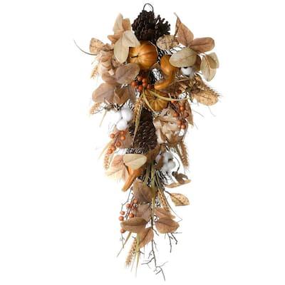 30 in. Autumn Pine Nut Teardrop