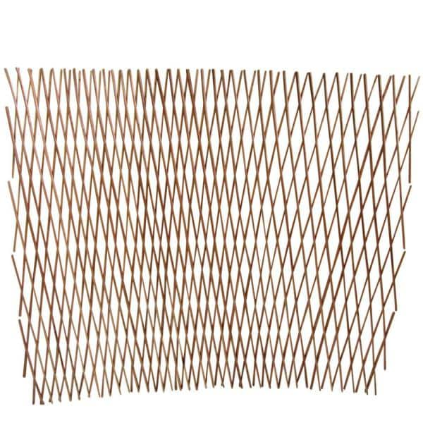 Mgp 30 In H X 360 In W Peeled Willow Expandable Lattice Garden Fence Wcff 36x The Home Depot