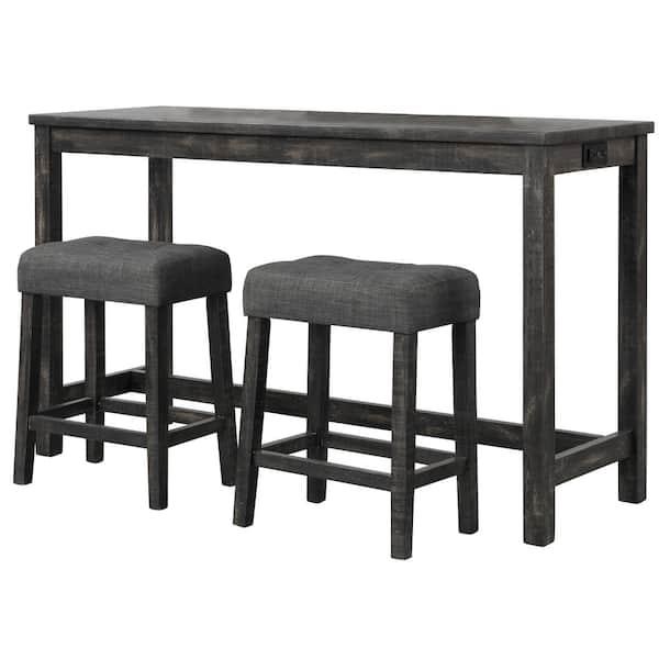 Best Master Furniture Kendra 3 Piece, Bar Sets Furniture