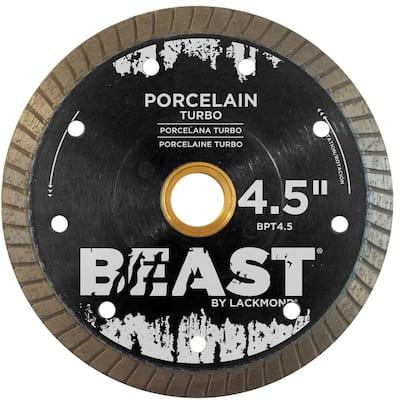 4.5 in. Turbo Hard Porcelain Blade 0.050 x 7/8 in. - 20 mm - 5/8 in. Wet/Dry