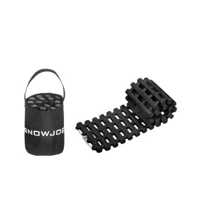 Track Assist, Thermoplastic Rubber Non Slip Traction for Car Tire in Ice, Snow, Mud and Sand
