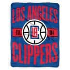 Clear Out Los Angeles Clippers Polyester Twin Knitted Blanket