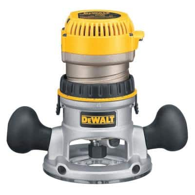 12 Amp Corded 2-1/4 Horsepower Electronic Variable Speed Fixed Base Router with Soft Start