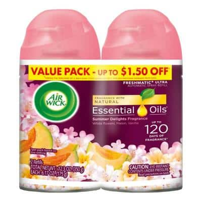 Freshmatic 5.89 oz. Summer Delights Automatic Air Freshener Refill (2-Pack)