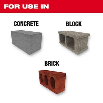 SHOCKWAVE Carbide Hammer Drill Bit Kit (7-Piece)