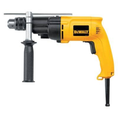 7.8 Amp 1/2 in. Variable Speed Reversing Dual-Range Hammer Drill with kit box