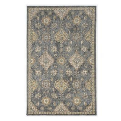 Josephine Slate Grey 7 ft. x 10 ft. Rectangle Wool Scatter/Accent Rug
