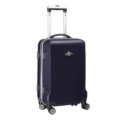 MLB Milwaukee Brewers Navy 21 in. Carry-On Hardcase Spinner Suitcase