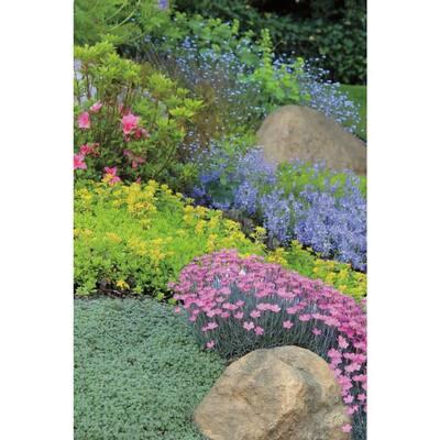 32 in. x 23 in. x 4.5 in. Fiberlite Medium Skimmer Imitation Tan Landscape Rock