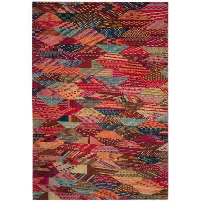 Monaco Multi 4 ft. x 5 ft. 7 in. Area Rug