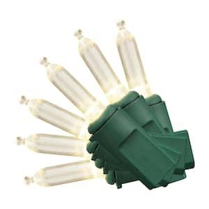 86.92 ft. 300-Light LED Mini Constant-On White String Lights