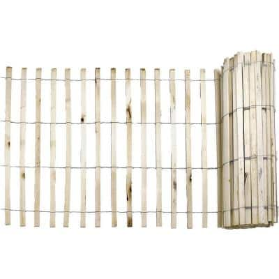 1/4 in. x 4 ft. x 50 ft. Natural Wood Snow Fence