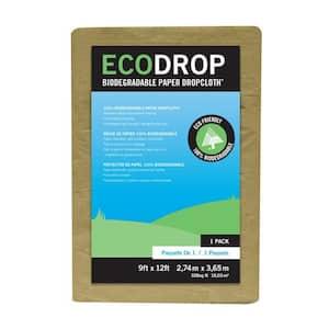 EcoDrop 9 ft. x 12 ft. Paper Drop Cloth
