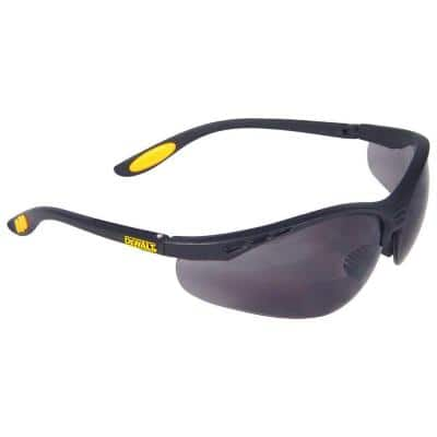 Safety Glasses Reinforcer RX 2.5 Diopter with Smoke Lens