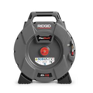 FlexShaft K9-102 1-1/4 in. - 2 in. Drain Cleaning Machine