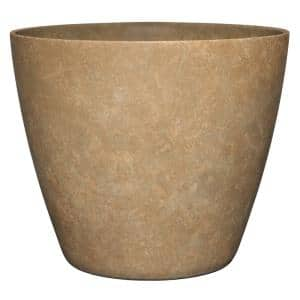Vogue 8 in. Earth Resin Planter