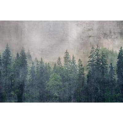 Forest Abstract Trees Wall Mural