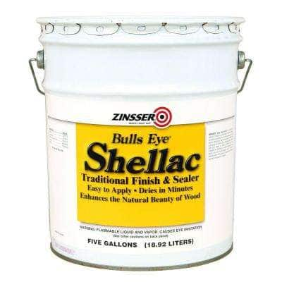 5 gal. Amber Shellac Traditional Finish and Sealer