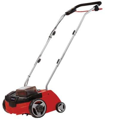 PXC 36-Volt Cordless 12 in. Scarifier and Dethatcher with 2 x 3.0 Ah Batteries and Fast Charger