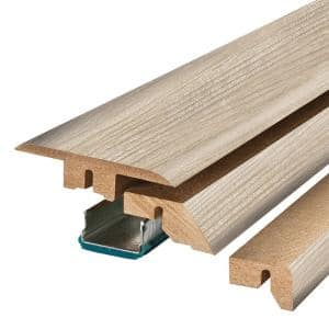 Chalked Abiding Pine 0.75 in. Thick x 2.37 in. Wide x 78.75 in. Length Laminate 4-in-1 Molding